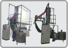 Pad-Batch Dyeing Machine